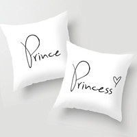 Prince & Princess Pillow Pair by RexLambo | Society6