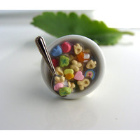 Lucky Charms Cereal Fruit Loops and more Dust by CatrinasToybox
