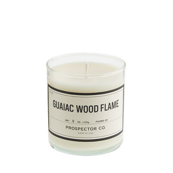J.Crew Mens Prospector Co. Guaiac Wood Flame Candle