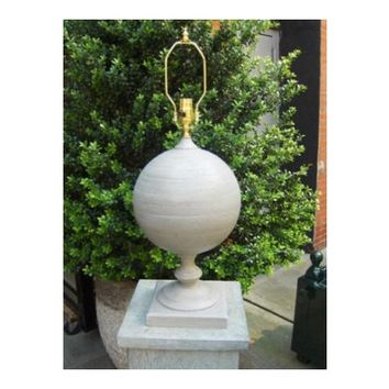 Ball Finial Lamp