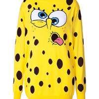 Moschino - Virgin Wool Cartoon Sweater Dress