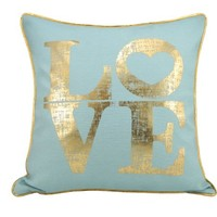 Better Homes and Gardens LOVE Foil Pillow - Walmart.com