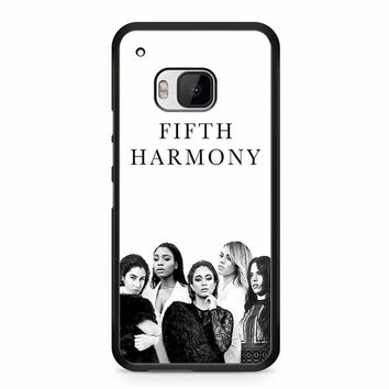 Fifth Harmony Black White HTC M9 Case