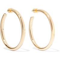 Jennifer Fisher - Baby Lilly gold-plated hoop earrings