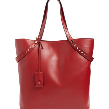 Valentino Lovestud Leather Tote | Nordstrom