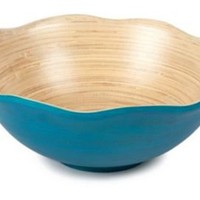 One Kings Lane - The Colorful Kitchen - Flower Bowl, Sea