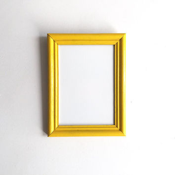 Vintage Framed Whiteboard - Yellow, Antique, Decor, Kitchen, Office, Dry Erase Board, Teacher, School, Bright, Wedding, Engagement