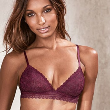 Crochet Lace Triangle Bralette - The Victoria's Secret Bralette Collection - Victoria's Secret