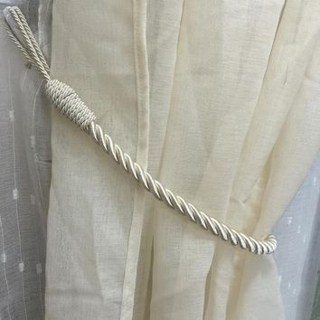 Decorative Window Curtain Tie Backs Hold backs Rope
