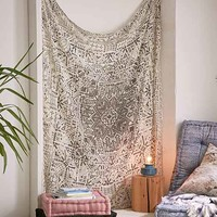 Magical Thinking Izmir Maze Fringe Tapestry