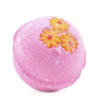 Lush - Pink Bath Bomb a Candy-topped Treat with Sweet Vanilla and Tonka Bean - Made in Canada Ships From USA