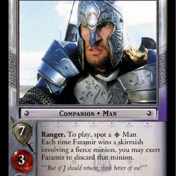 Lord of the Rings TCG - Faramir, Stout Captain - The Return of the King