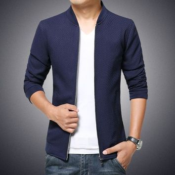 Men's fashion new winter Japanese knitted jacket size mlxl