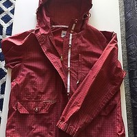 GUC Ralph Lauren Red Check Light Jacket Size Small