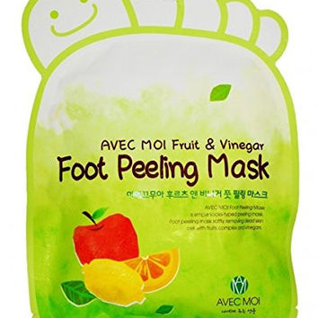 2 Socks Pack - Baby Foot Deep Exfoliation Peeling Calluses and Dead Skin Foot Mask, Remove Dead Skin Easily, Treat Cracked Heels, Improve Foot Odor - Get New Soft Baby Feet in 4 Days to 2 Weeks.