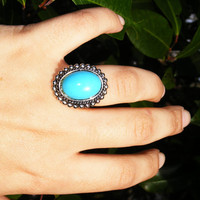 Southwestern Fashion Cocktail Ring