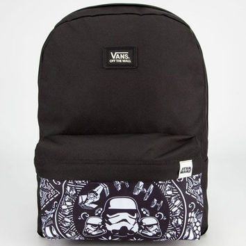 Vans Star Wars Stormtrooper Backpack Black/White One Size For Men 23836712501
