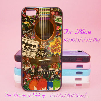 The beatles,Gitar,Touch 5,iPad 2/3/4,iPad mini,iPad Air,iPhone 5s/ 5c / 5 /4S/4 , Galaxy S3/S4/S5/S3 mini/S4 mini/S4 active/Note