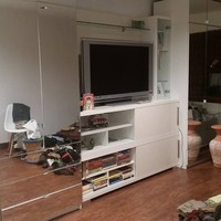 Modern mirror wardrobes / wall unit
