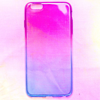 Purple and Blue Gradient iPhone Case