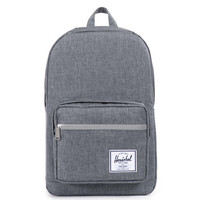 Herschel Pop Quiz Backpack Charcoal Crosshatch
