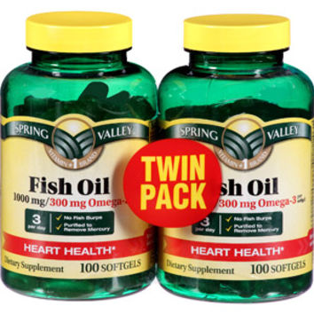 Walmart spring valley omega 3 fish oil from walmart hair for Omega 3 fish oil walmart
