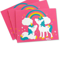 Cute Unicorn Note Cards