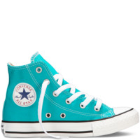 Converse - Chuck Taylor All Star Fresh Colors 4-7 Yr - Mediterranean - Hi