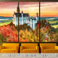 Neuschwanstein castle, Palace situated in Bavaria, Germany №1806