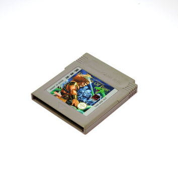 Wizards & Warriors X: FORTRESS OF FEAR, 1990 Retro Nintendo Original Gameboy Cartridge. In Good Working Condition.