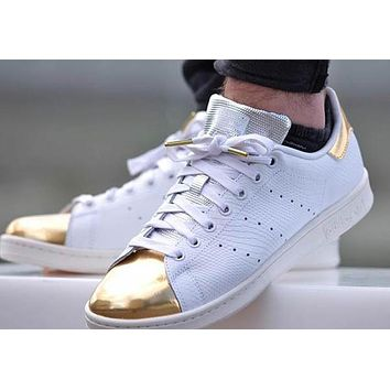 stan smith gold toe snake snakeskin silver and gold toe stan smith sneaker for men and women free shipping