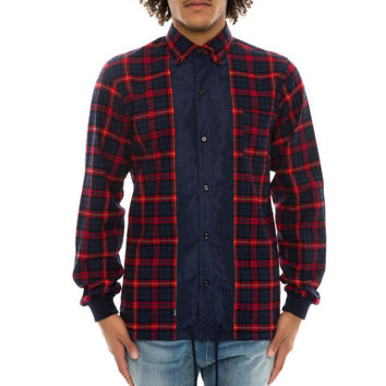 Men's Woven L/S Woven Button Down Shirt Motive