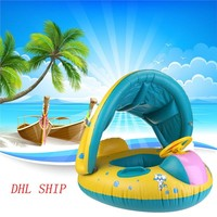 WINOMO Baby Swimming Float Boat Pool Floats