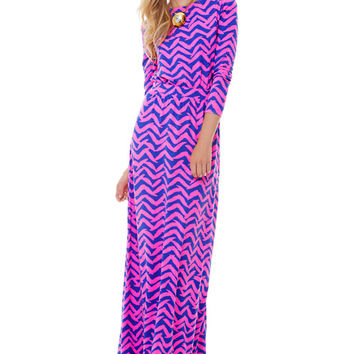 Nigella Boatneck Maxi Dress - Lilly Pulitzer