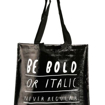 Be Bold Shopper (Great for Groceries, Clothes, You Name It!)
