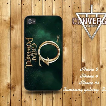 Oz the Great and Powerful poster  Handmade Case for Iphone 4/4s,Iphone5 Case,Samsung Galaxy s2,s3