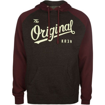 Kr3w The Original Mens Hoodie Charcoal  In Sizes