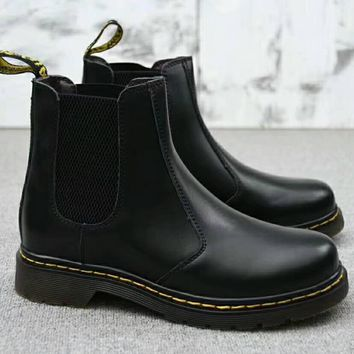 Dr. Martens Chelsea Boots Fashion Winter Waterproof Boots Martin Leather Boots Shoes G-A0-HXYDXPF-1
