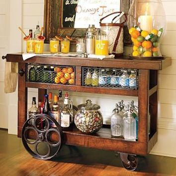 Glasgow Entertaining Bar | Pottery Barn