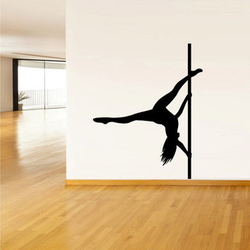 Wall decal vinyl sticker decor art bedroom design mural - Sensual paintings for the bedroom ...