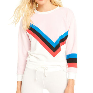 United Stripe Junior Sweatshirt - Wildfox