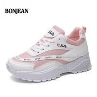 Brand Tenis Mujer 2018 New Summer Women Tennis Shoes Breathable Gym Sport Shoes Women Stability Sneakers Athletic Shoes Fitness