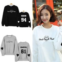 EXO Hoodies Winter Thick Men and women Round Neck Sweatershirt EXO-K Kpop Clothes Fashion Women Brands Hoodie K-pop EXO K POP DO