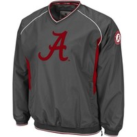 Alabama Crimson Tide Hardball II Pullover Jacket - Charcoal
