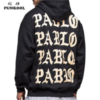 Pablo Hoodie Skateboard Casual Men Sweatshirt