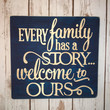 Wooden Sign Quotable Gifts-EVERY FAMILY-Wall Gallery Art, Custom Wood Sign, Gifts for Her, Sorority, Dorm Room Decor, Kitchen Decor