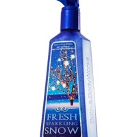 Fresh Sparkling Snow Deep Cleansing Hand Soap   - Anti-Bacterial - Bath & Body Works