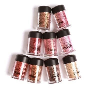 Makeup Glitter Eye shadow Cosmetic Makeup Shimmer Pigment  12 Colors