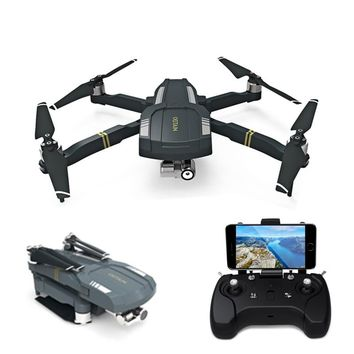 Foldable RTF RC Quadcopter with GPS, WiFi, FPV 1080P HD Drone with Camera 3-axis Stabilization Gimbal & Follow Me Mode