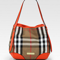Burberry - Canterbury Canvas Shoulder Bag